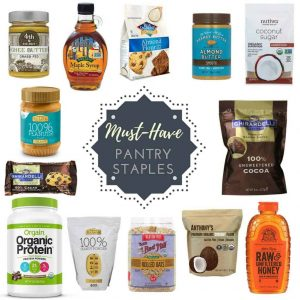 Pantry Staples (Baking & Smoothie Making)