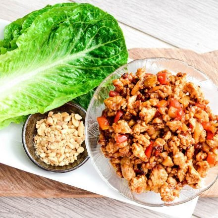 Asian Chicken Lettuce Wraps (Better than P.F. Chang's)!