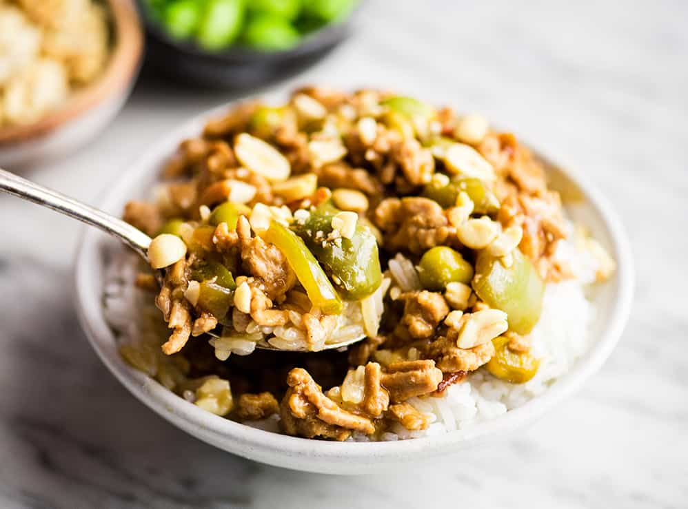 Thai Slow Cooker Ground Turkey Joyfoodsunshine