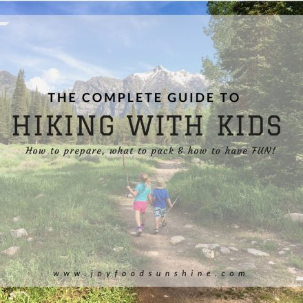 Complete Guide to Hiking With Kids