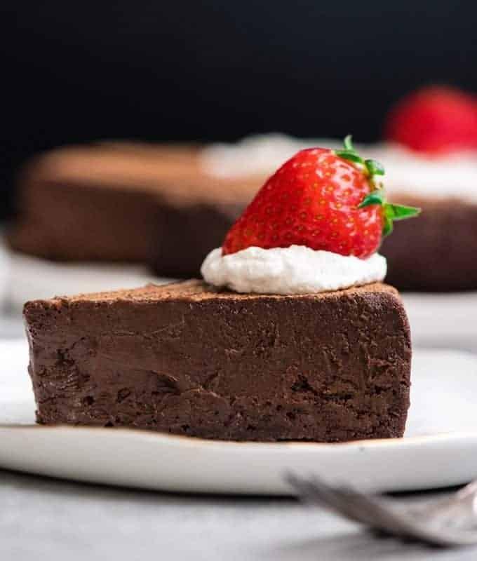 Flourless Chocolate Truffle Cake {Gluten-Free}