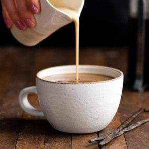 Healthy Homemade Coffee Creamer