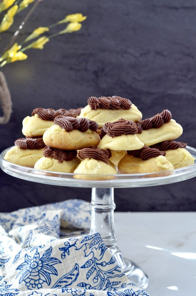 The very best Homemade Eclairs. A labor of love resulting in the most delicious dessert you will ever taste!