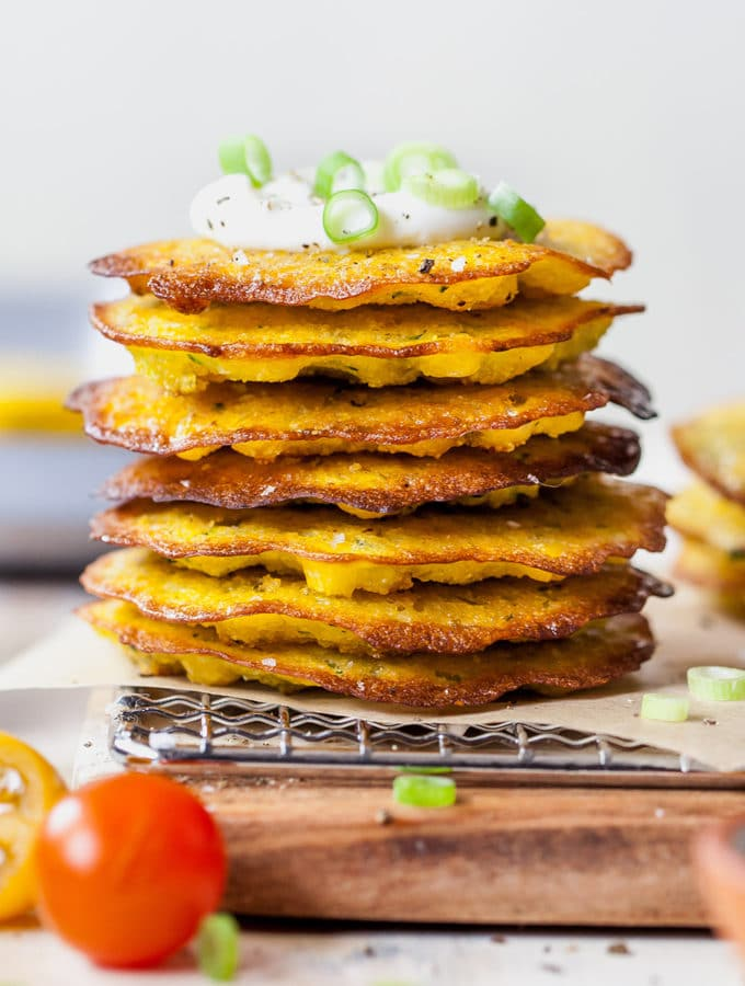 Baked Zucchini Corn Fritters