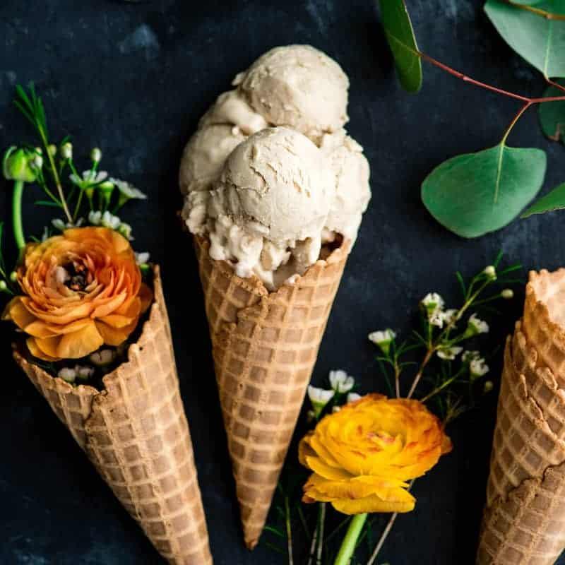 Paleo Vanilla Ice Cream - JoyFoodSunshine