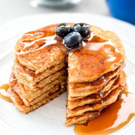 Greek Yogurt Pancakes (gluten-free)