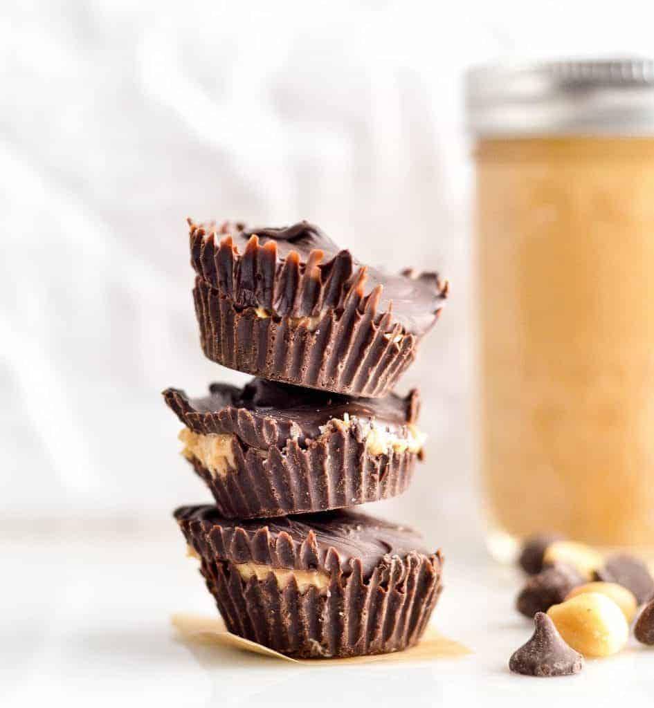 Healthy Homemade Peanut Butter Cups Joyfoodsunshine