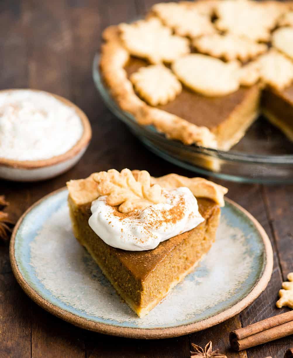 Dairy Free Pumpkin Pie Joyfoodsunshine