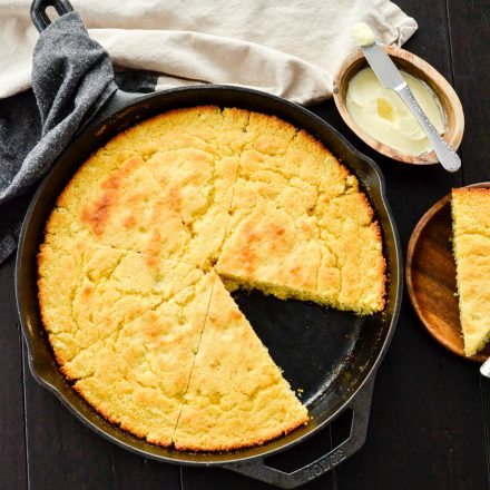 Healthy Skillet Cornbread