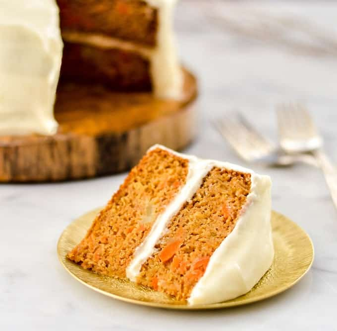 Carrot Cake Made With Butter Not Oil