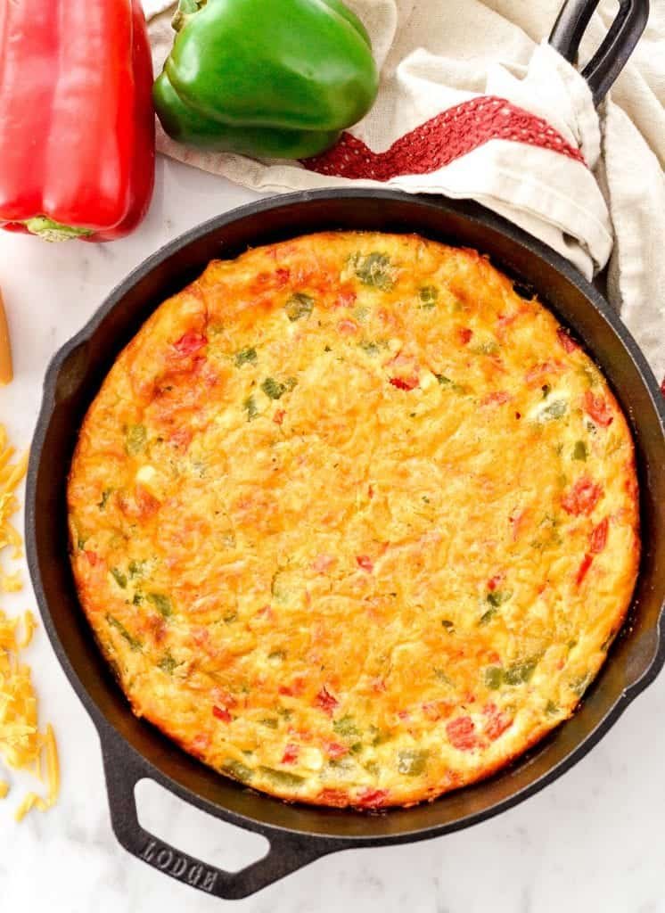This Gluten-Free Crustless Quiche recipe is easy, healthy & delicious! Perfect for a special brunch or quick weeknight dinner!