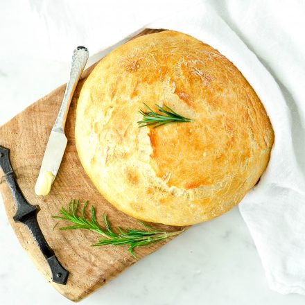 Easy No Knead Bread