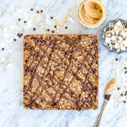 Date, Coconut & Peanut Butter Granola Bars {+ A Vitamix & Petunia Pickle Bottom Giveaway}!!!