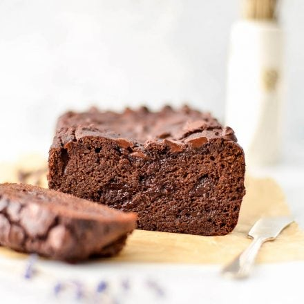 Paleo Double Chocolate Zucchini Banana Bread