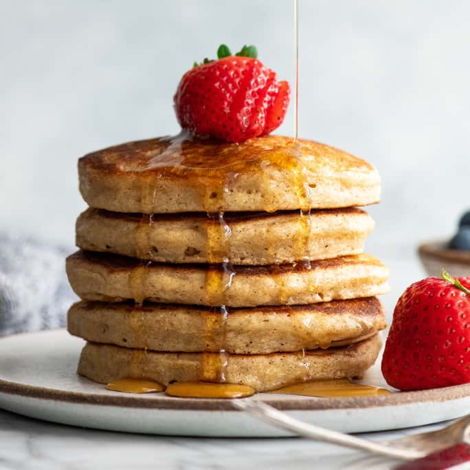 Best Whole Wheat Pancakes Joyfoodsunshine