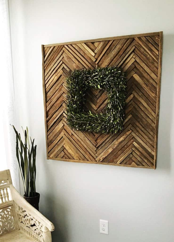 Moments 09.2017 JoyFoodSunshine DIY Reclaimed wood decor