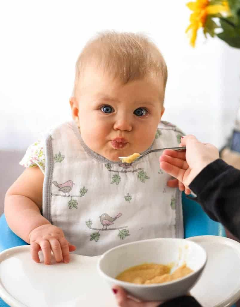 How to introduce Peanuts to Baby! Research shows introducing peanuts to babies at a young age helps prevent the development of peanut allergies!