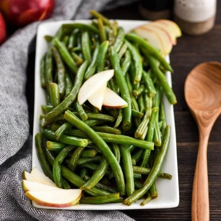 Apple Cider Green Beans