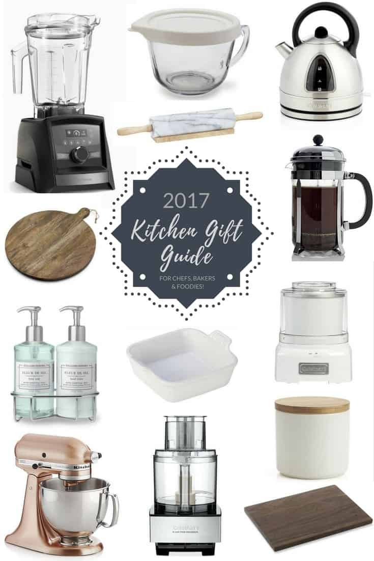 2017 Kitchen Holiday Gift Guide from JoyFoodSunshine! The best gifts for the cook, baker or foodie in your life!