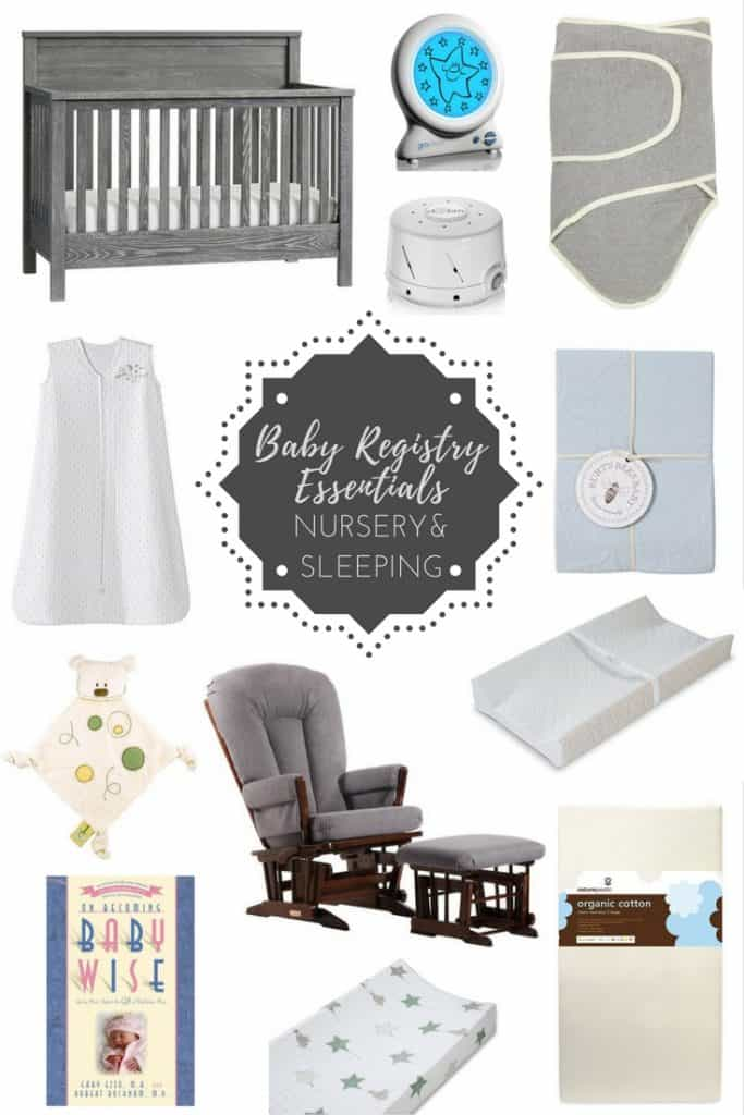 This is a comprehensive Baby Registry Essentials List from a mom of four! All the items I couldn't live without and have stood the test of time! #babyregistry #essentials #babygear #babymusthaves #newborn #newmom