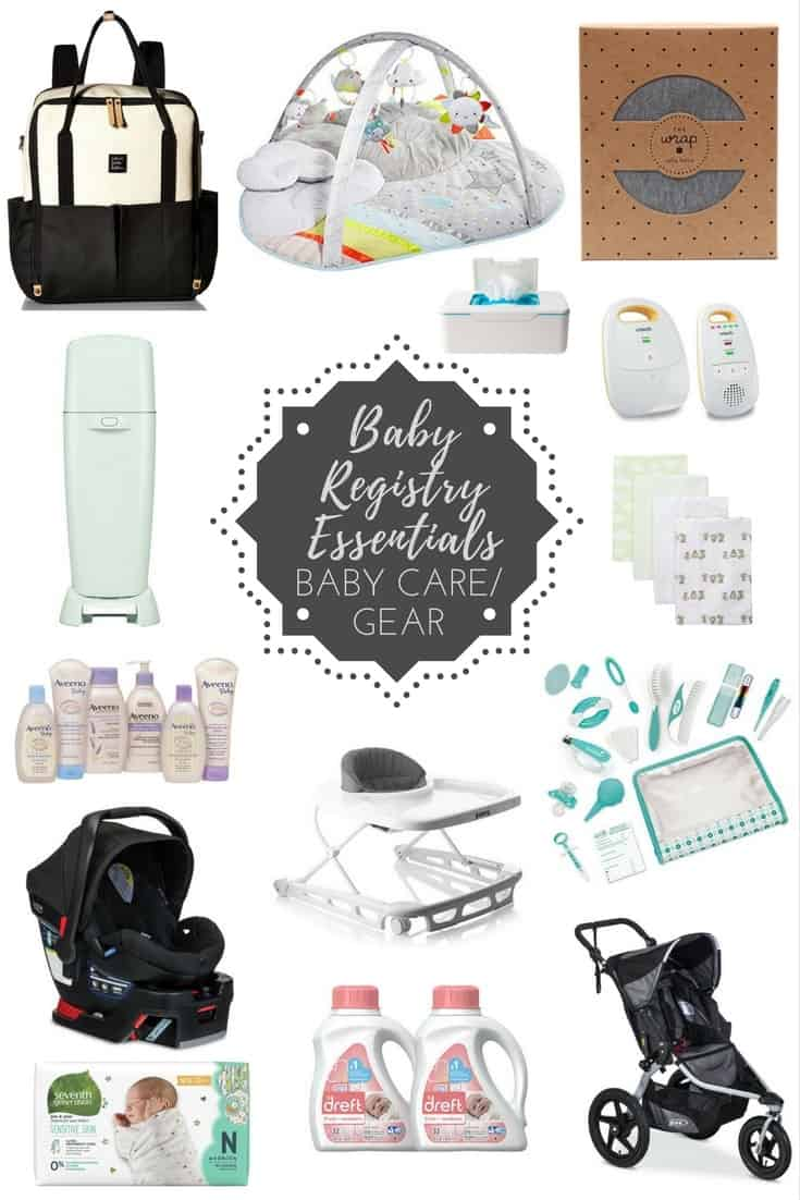 Baby Registry Essentials List - JoyFoodSunshine