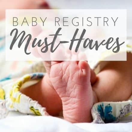 Baby Registry Essentials List