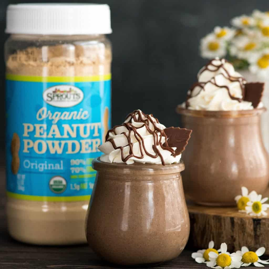 Creamy Chocolate Peanut Butter Chia Pudding is the perfect make-ahed breakfast, healthier dessert or afternoon snack! This recipe is loaded with good-for-you ingredients but tastes like a decadent treat! #vegan #glutenfree #dairyfree #chiapudding #chocolate #peanutbutter #almondmilk #chiaseeds #breakfast #healthydessert #healthysnack #recipe
