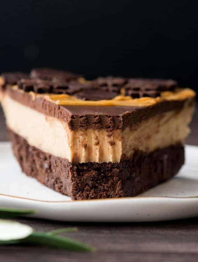 Chocolate Peanut Butter Pie (Gluten-Free & Dairy-Free)