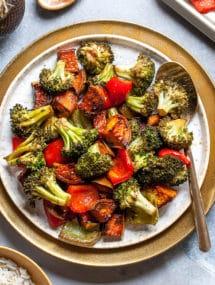 Balsamic Rosted Vegetables