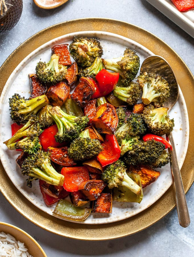 Balsamic Rosted Vegetables