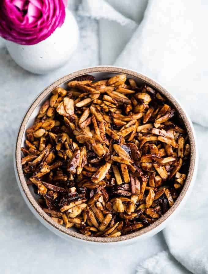 Easy Candied Almonds