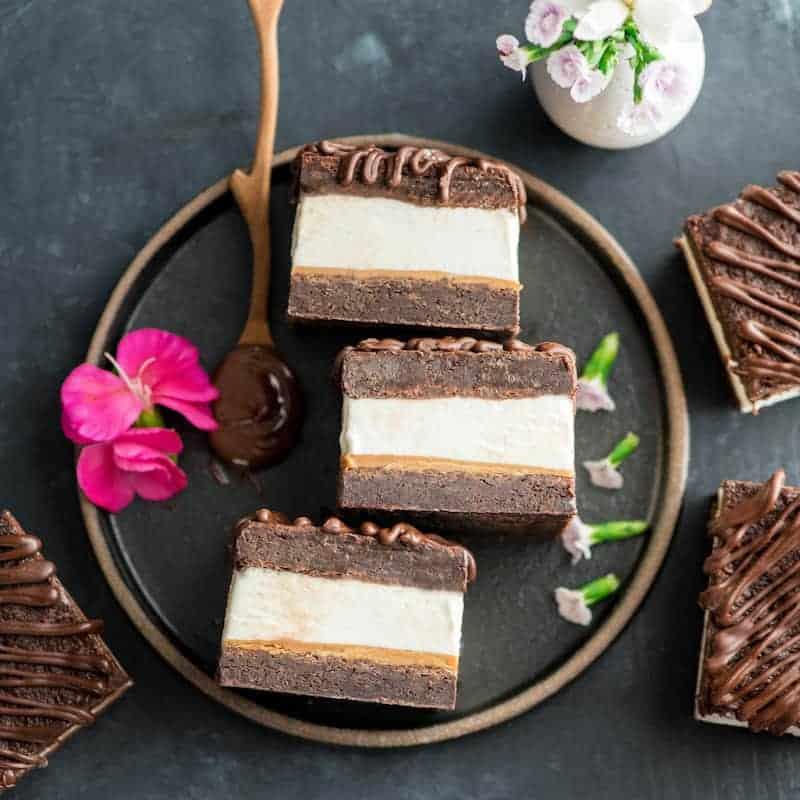 Peanut Butter Brownie Ice Cream Sandwiches Joyfoodsunshine