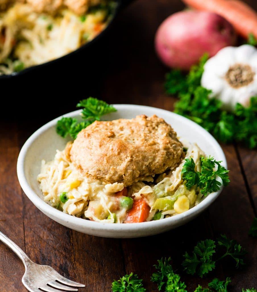 Healthy Chicken Pot Pie