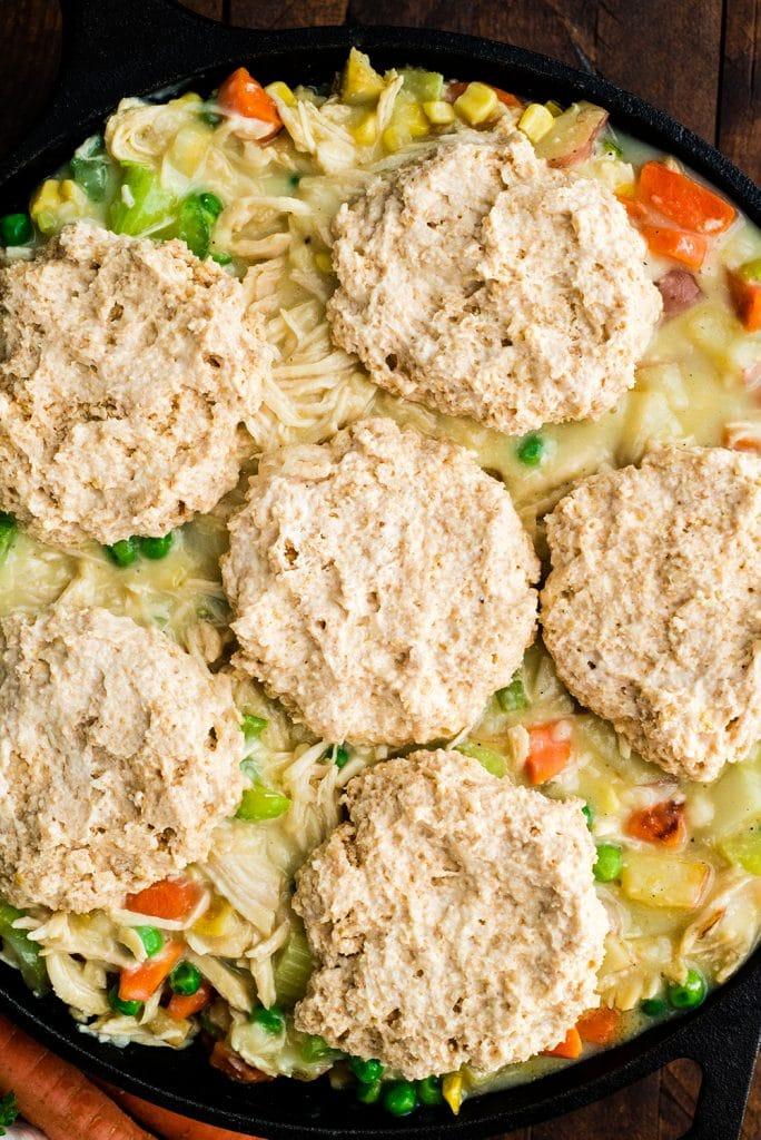Healthy Chicken Pot Pie Joyfoodsunshine