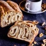 Povitica (Walnut Cinnamon Swirl Bread)