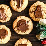 Flourless Peanut Butter Blossom Cookies
