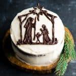 Nativity Cake