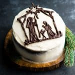 Merry Christmas! (Nativity Cake)!