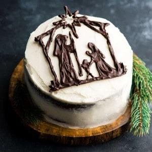 Merry Christmas! (Nativity Cake)!
