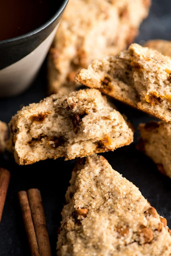 Cinnamon Scones With Cinnamon Chips Joyfoodsunshine