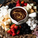 Chocolate Peanut Butter Fondue