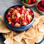 Fruit Salsa & Cinnamon Chips