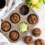 Paleo Zucchini Banana muffins