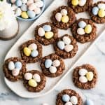 Healthy Easter Nest Cookies