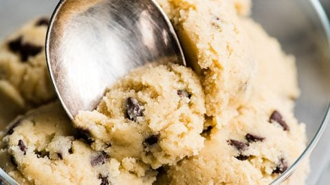 How to make edible cookie dough tik tok
