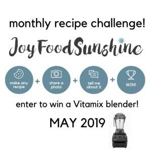 May 2019 Recipe Challenge