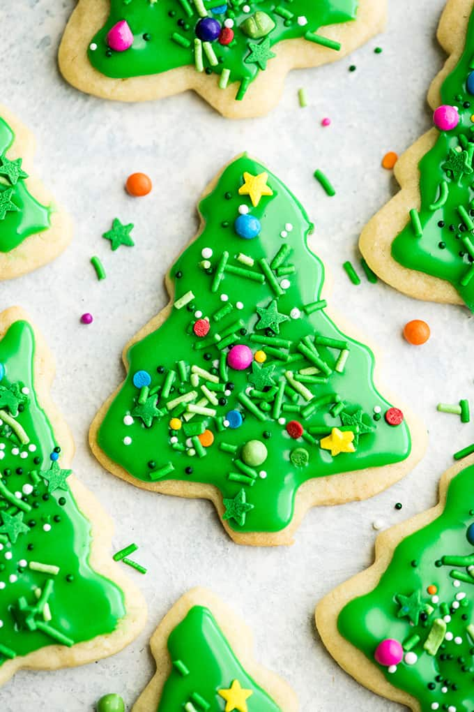 Christmas Cookie Frosting.Best Cut Out Sugar Cookie Recipe Joyfoodsunshine