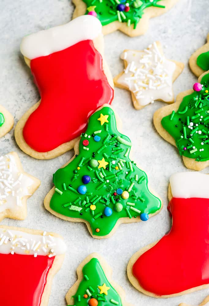 Best Christmas Cookies 2021 Best Cut Out Sugar Cookie Recipe   JoyFoodSunshine