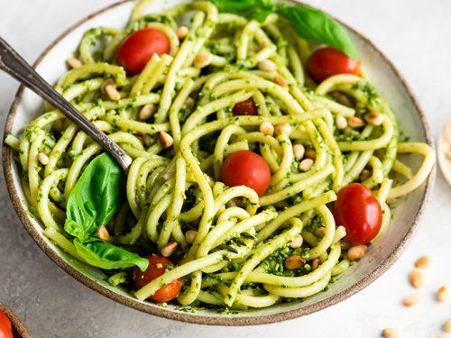 Easy Pesto Pasta Recipe - JoyFoodSunshine