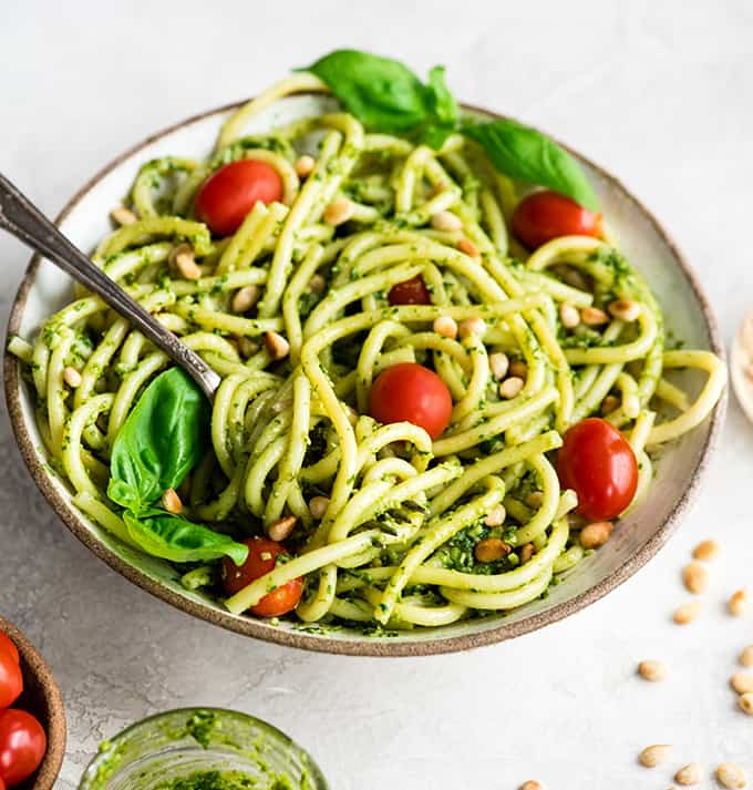 Easy Pesto Pasta Recipe